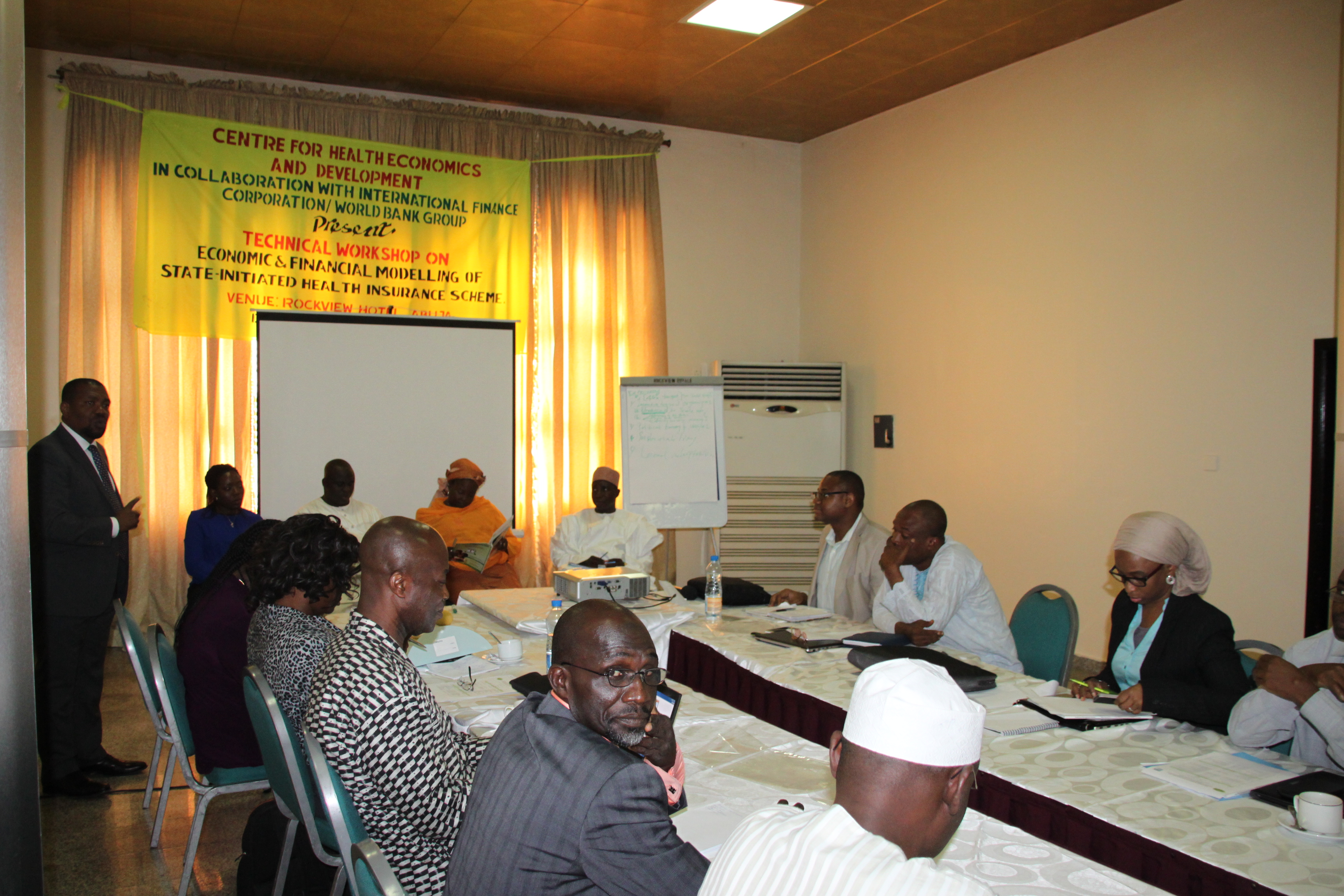 Capacity Building for NHIS Staff Lagos Ogun and Kwara SMoH on SHIS – CHECOD Centre for Health Economic and Development